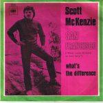 Scott McKenzie - San Francisco (Wear Some Flowers in your Hair) SINGLE
