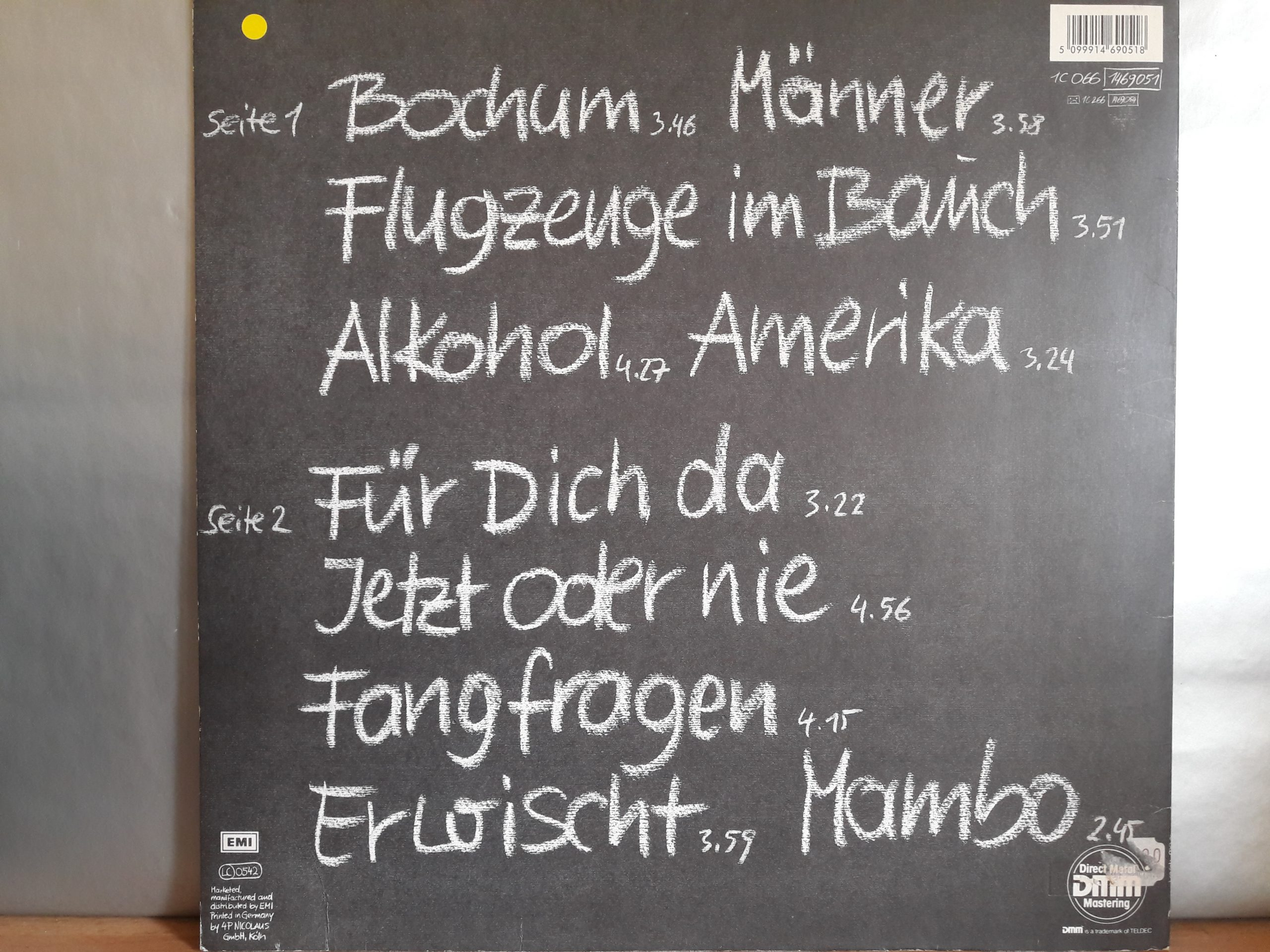 Bochum single grönemeyer